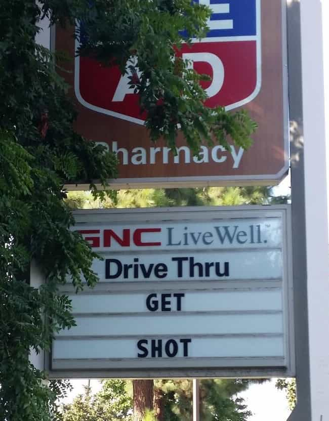 On Second Thought, Let's G... is listed (or ranked) 3 on the list Rite Aid Photos That Will Make You Run to CVS