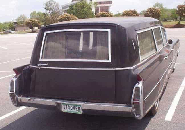 Game Over, Slugger is listed (or ranked) 4 on the list 26 Funny Hearse License Plates That Are Actually Pretty Dark