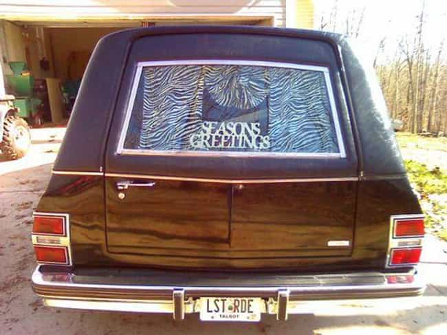 Better Enjoy It is listed (or ranked) 3 on the list 26 Funny Hearse License Plates That Are Actually Pretty Dark