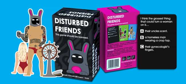 Disturbed Friends is listed (or ranked) 1 on the list The Best Drinking Games