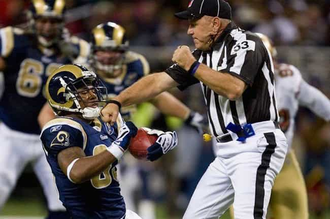 Personal Foul! is listed (or ranked) 3 on the list The Funniest & Most Awkward NFL Photos Ever Taken