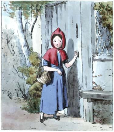 Little Red Riding Hood Eats Her Grandmother's Teeth