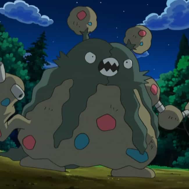 Garbodor is listed (or ranked) 3 on the list The Ugliest Pokemon in the Pokedex