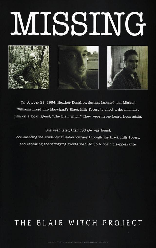 Image of Random Awesome Facts About Original Blair Witch Project