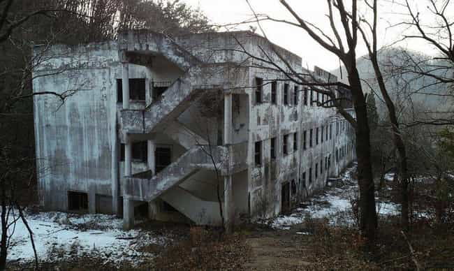 Gonjiam Psychiatric Hospital, ... is listed (or ranked) 1 on the list 16 Ridiculously Creepy Places in Asia That Are Supposedly Haunted
