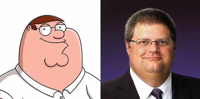 Family Guys is listed (or ranked) 4 on the list Real People Who Look Exactly Like Peter Griffin