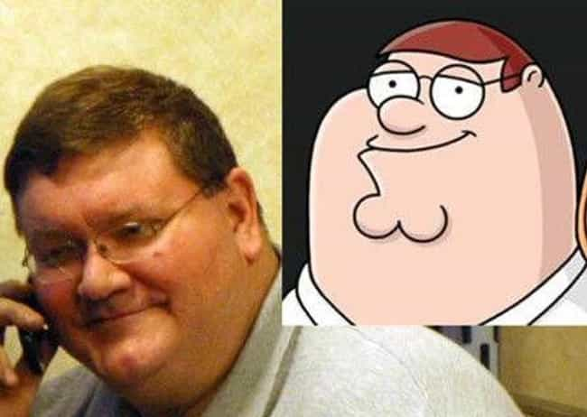 On Call Peter Griffin is listed (or ranked) 3 on the list Real People Who Look Exactly Like Peter Griffin