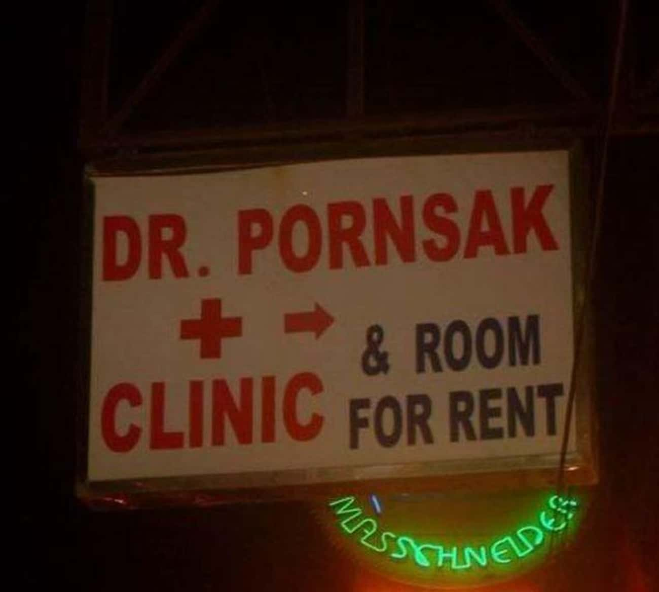 Sad Sack is listed (or ranked) 4 on the list Hilarious Doctor Names You Won't Believe Are Real