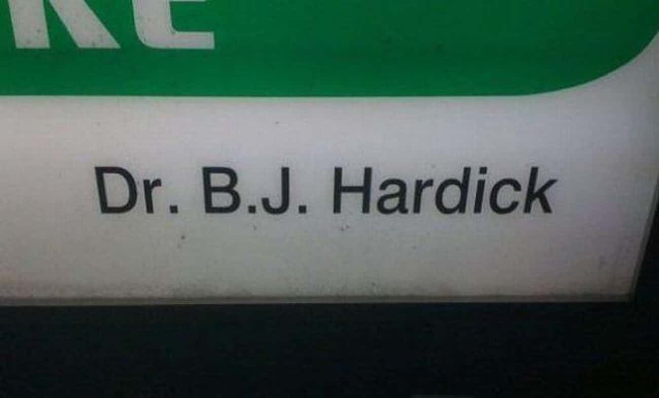 Falling on Hard Times is listed (or ranked) 2 on the list Hilarious Doctor Names You Won't Believe Are Real