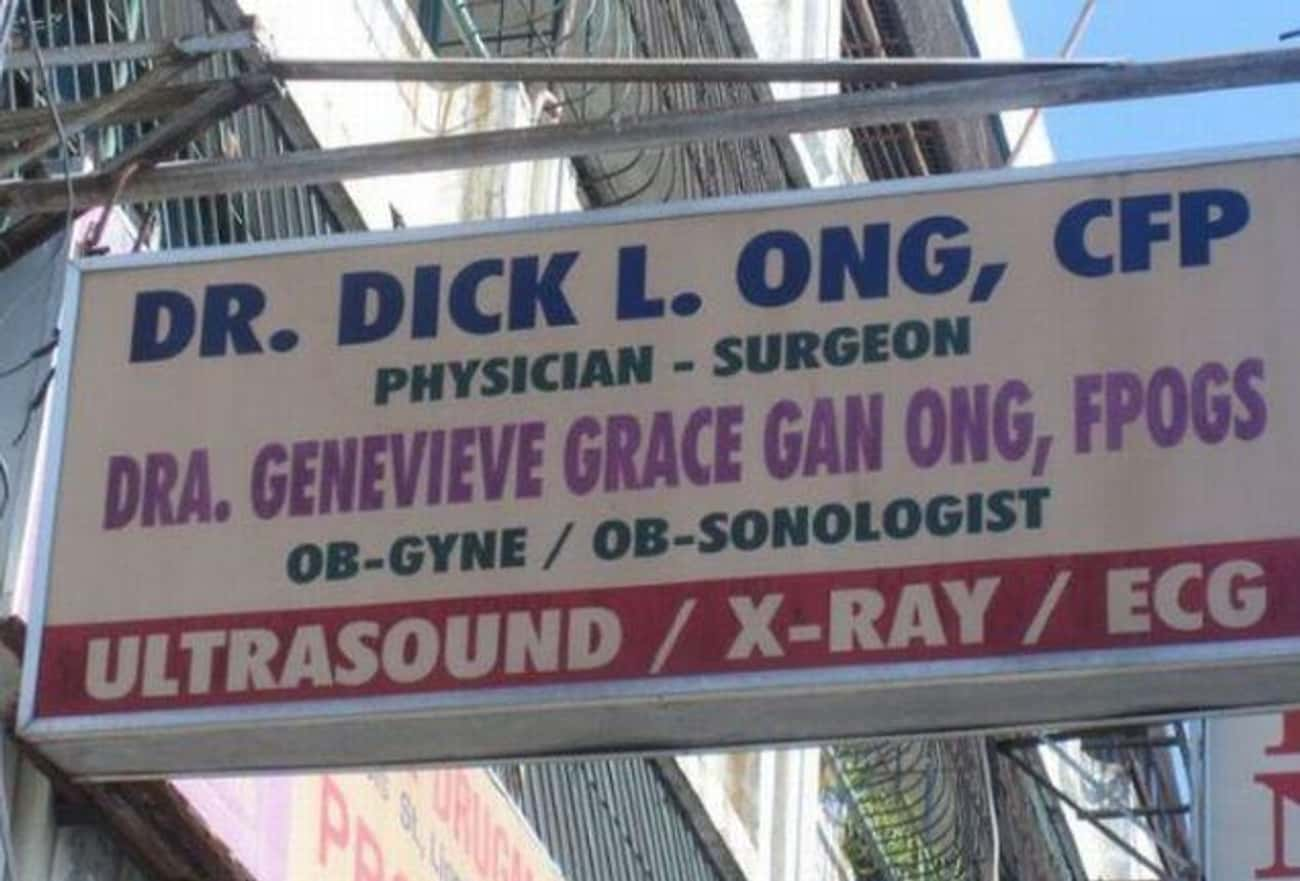 The Long and Short of It is listed (or ranked) 1 on the list Hilarious Doctor Names You Won't Believe Are Real