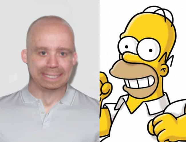 The Resemblance is Uncanny is listed (or ranked) 4 on the list 13 Real People Who Look Exactly Like Homer Simpson