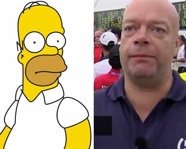 Homer Depot is listed (or ranked) 1 on the list 13 Real People Who Look Exactly Like Homer Simpson