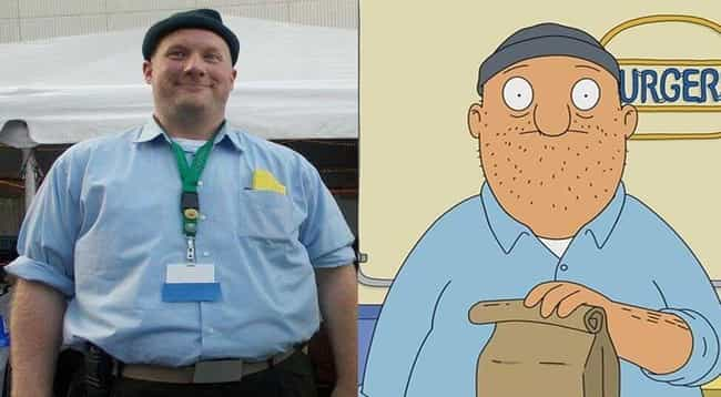 Teddy Bears is listed (or ranked) 4 on the list Real People Who Look Exactly Like Bob's Burgers Characters