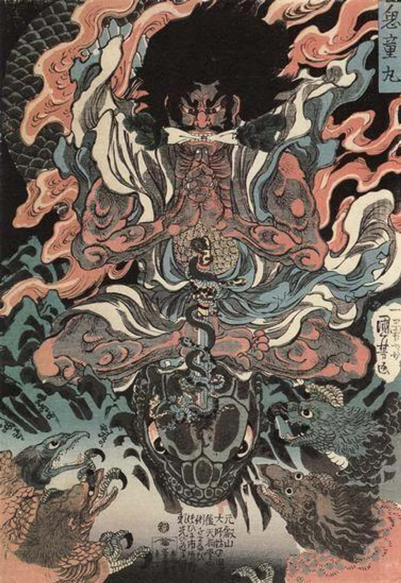 Oni is listed (or ranked) 2 on the list The 19 Scariest Demons And Monsters From Buddhism