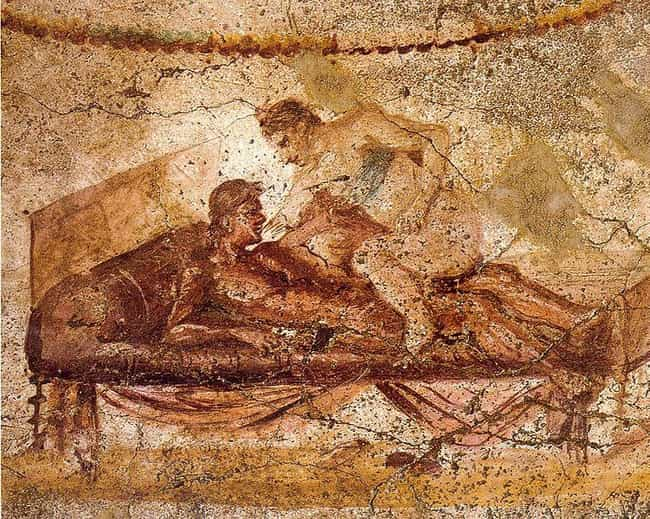 The Crude Graffiti On Th... is listed (or ranked) 4 on the list The Most NSFW Archaeological Discoveries, from Beastiality to Giant Phalluses