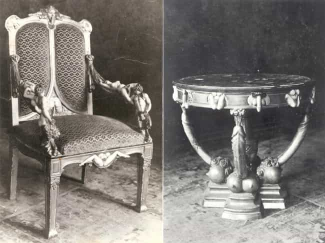 Catherine The Great's Table Of... is listed (or ranked) 2 on the list The Most NSFW Archaeological Discoveries, from Beastiality to Giant Phalluses