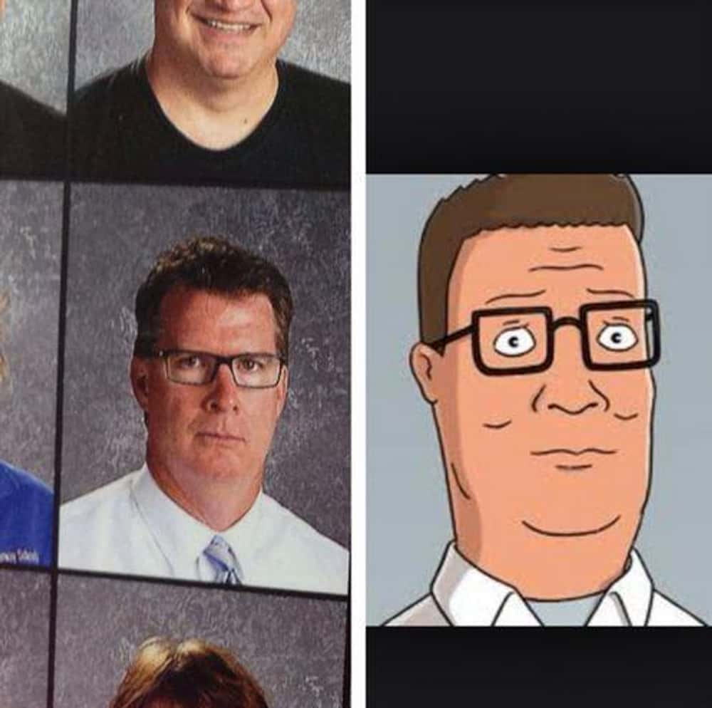 The Hills Have Eyes is listed (or ranked) 1 on the list 14 Real People Who Look Exactly Like King of the Hill Characters