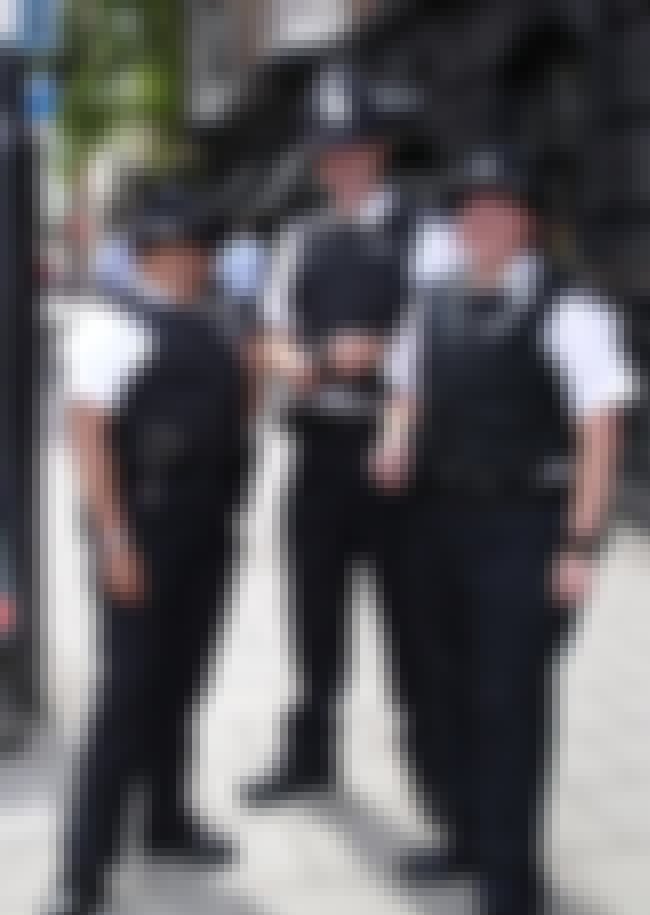 English Police Constables - UK is listed (or ranked) 3 on the list What Police Uniforms Look Like Around the World