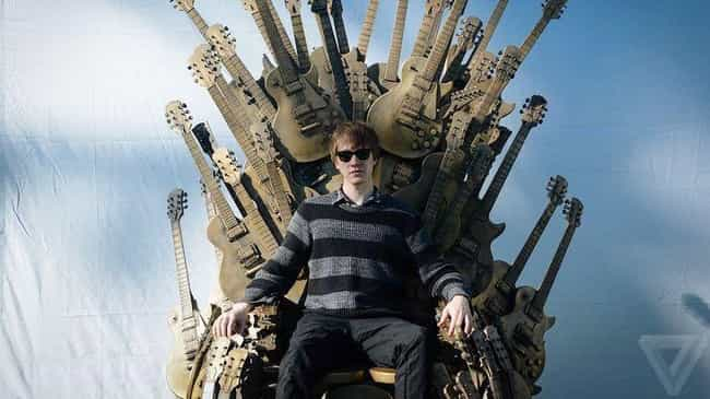 The Real Guitar Hero is listed (or ranked) 3 on the list 22 People Who Made Kickass Thrones Out of Random Stuff