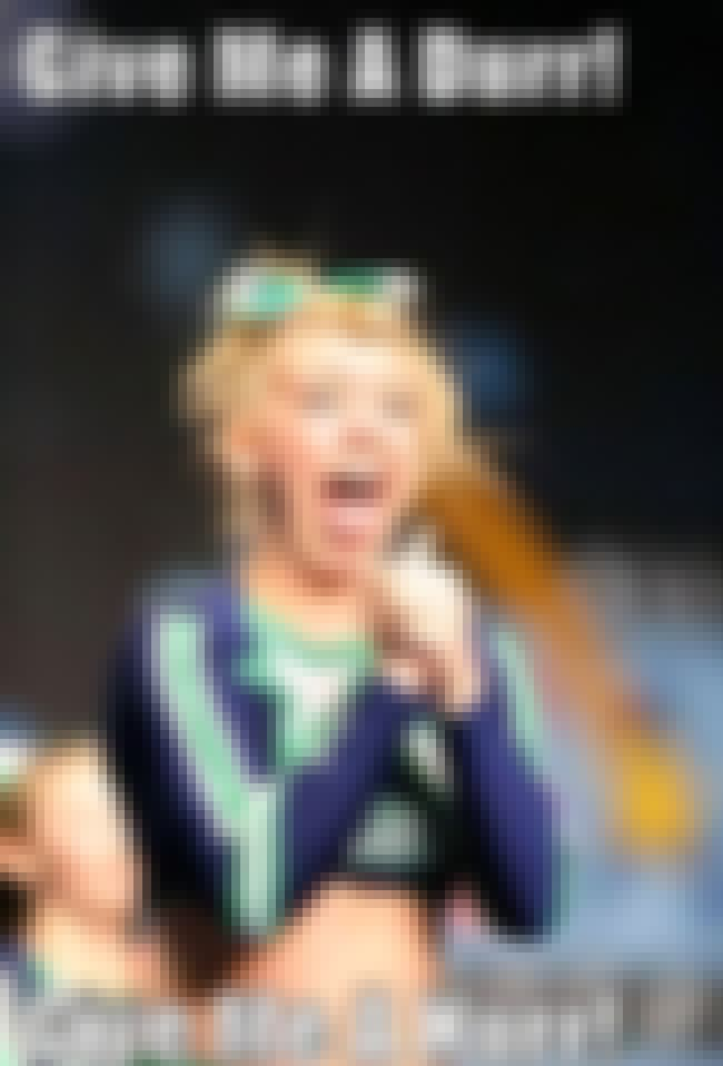 Derp It On is listed (or ranked) 1 on the list The Funniest Cheerleader Faces Ever Caught on Camera