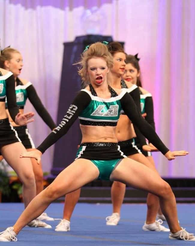 Image result for crazy cheerleader