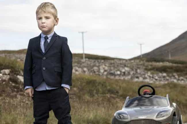The Name's Bond... Baby ... is listed (or ranked) 7 on the list 21 Famous Movie Scenes Hilariously Recreated in Real Life