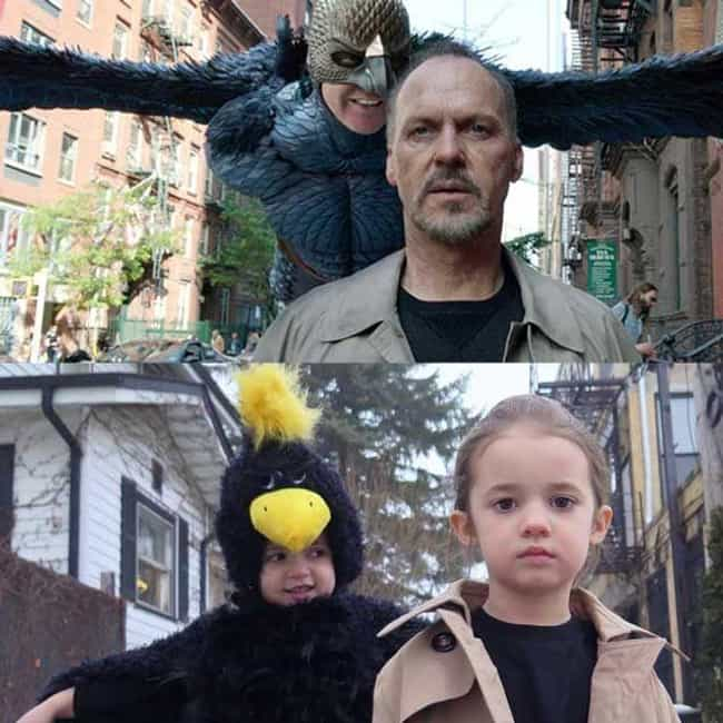 Birds of a Feather is listed (or ranked) 5 on the list 21 Famous Movie Scenes Hilariously Recreated in Real Life