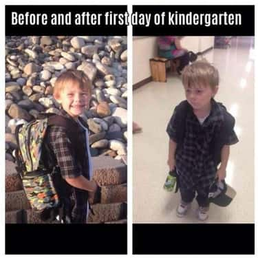 """School Daze is listed (or ranked) 1 on the list The Funniest """"Before and After"""" Memes Ever"""