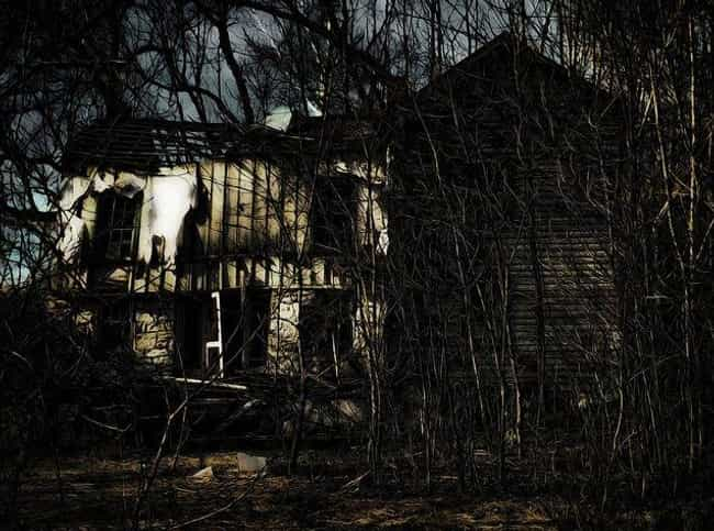 This Overgrown Horror Ho... is listed (or ranked) 1 on the list 10 Creepy And Terrifying Houses In The Woods