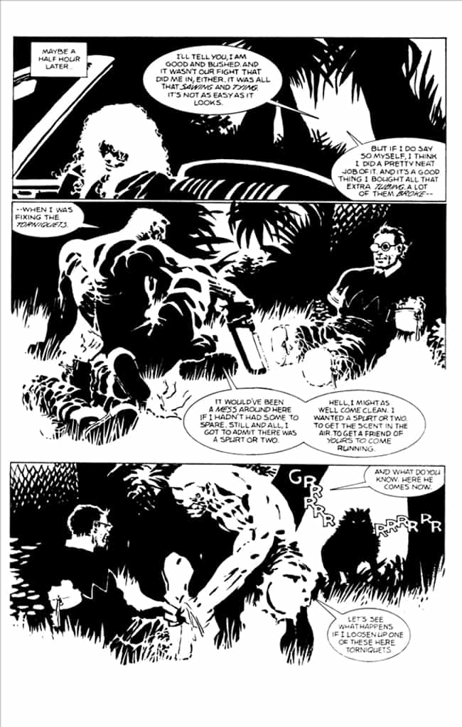 Kevin the Cannibal Gets What's... is listed (or ranked) 2 on the list The Goriest, Most Brutal Moments in Frank Miller's Graphic Novels