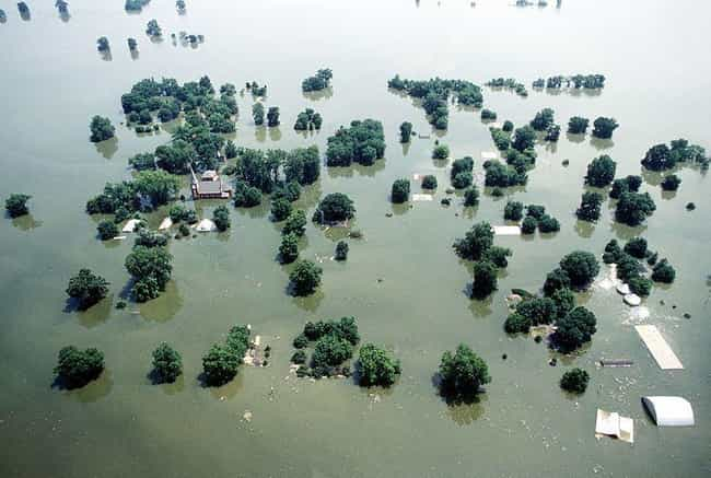 The Great Flood of 1993 Put Ma... is listed (or ranked) 1 on the list 20 Unbelievable Aftermath Pictures of the Worst Floods Throughout History