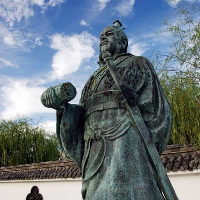 Sun Tzu Is Arguably Why ... is listed (or ranked) 2 on the list 8 Crazy and Fascinating Facts About Historical Spies and Espionage