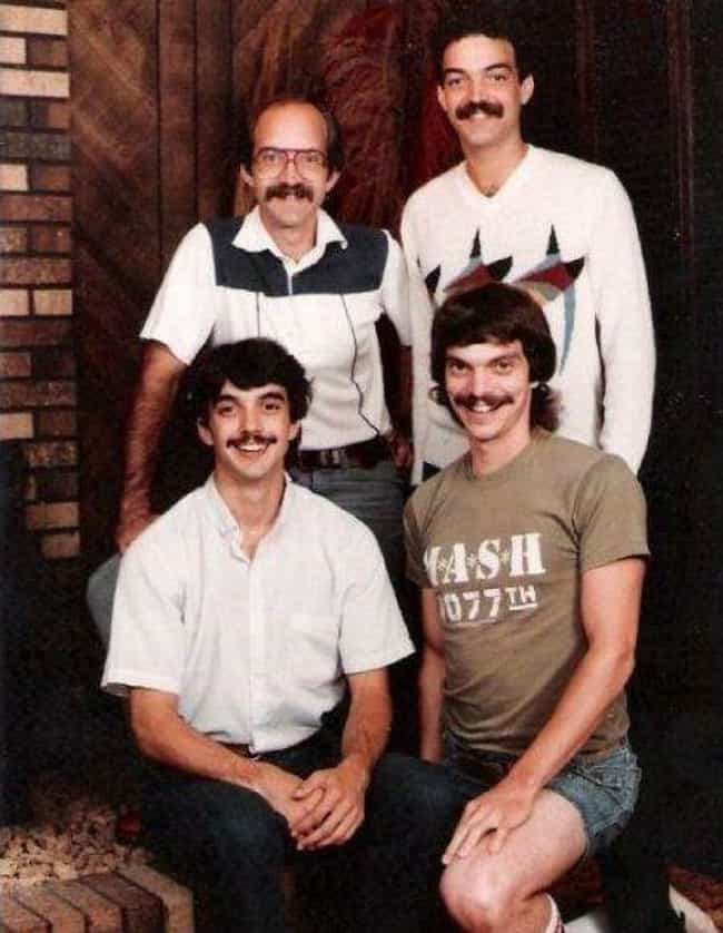 """I Mustache You a Question is listed (or ranked) 1 on the list The 24 Whitest """"White People"""" Photos Ever"""
