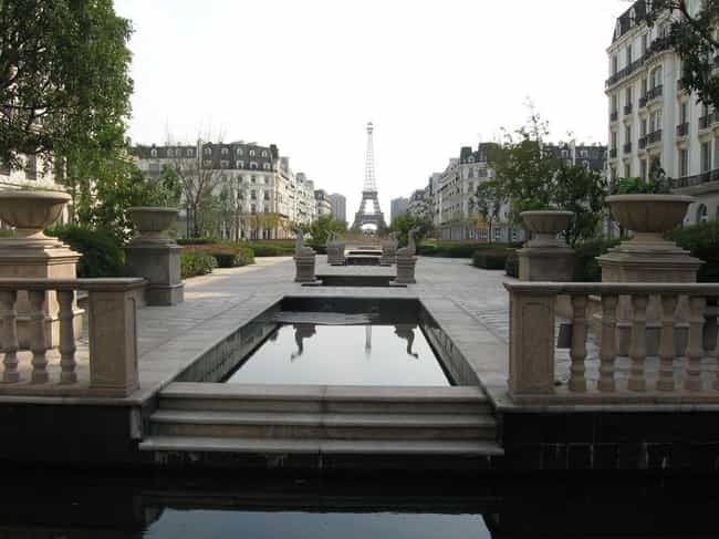 Tianducheng: A Baby Paris in t... is listed (or ranked) 3 on the list 10 Chinese Replica Cities Recreating Other Locations For No Real Reason