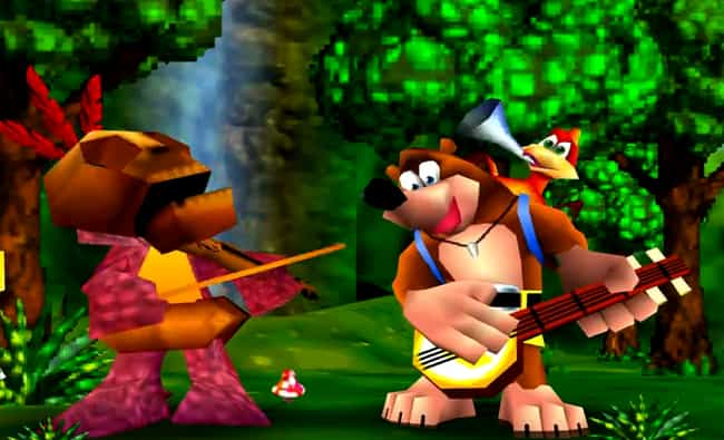 Banjo-Kazooie is listed (or ranked) 2 on the list 12 Forgotten Video Game Mascots That Need To Make A Comeback