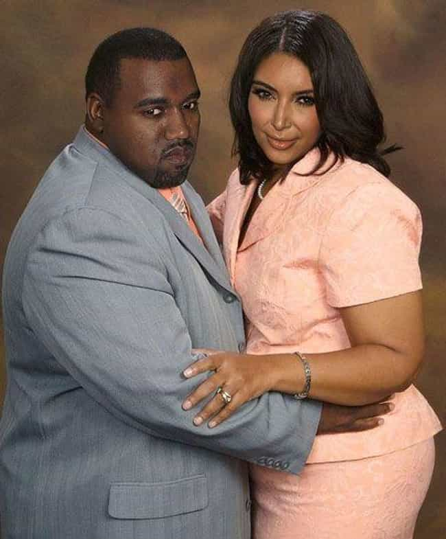 Midwest Kim and Kanye is listed (or ranked) 2 on the list 37 Times Photoshop Totally Nailed It