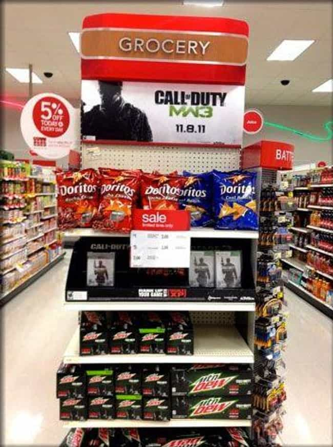Modern Marketing is listed (or ranked) 3 on the list 13 Examples of Genius Product Placement in Retail Stores