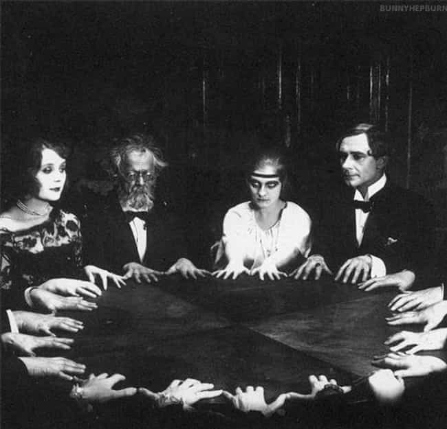 You Have to Want to Be There is listed (or ranked) 3 on the list 12 Weird Seance Rules You Must Follow If You Want to Speak to the Dead