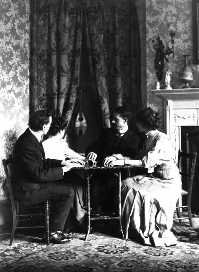 Listen to Pleasing Tones is listed (or ranked) 4 on the list 12 Weird Seance Rules You Must Follow If You Want to Speak to the Dead