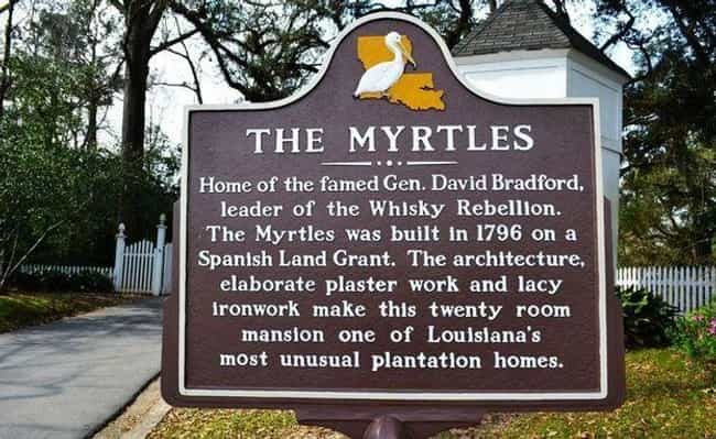 The Myrtles Plantation I... is listed (or ranked) 4 on the list Chilling Ghost Stories And Urban Legends From Louisiana