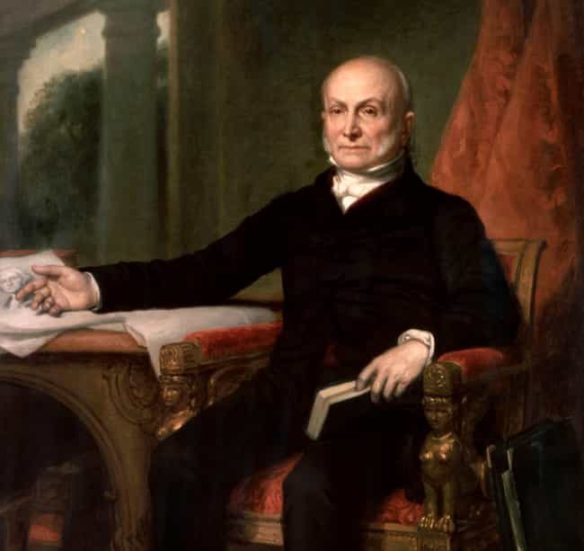 John Quincy Adams Regularly Sk... is listed (or ranked) 2 on the list US Presidents with the Strangest Hobbies