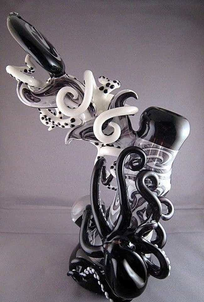 Behold: The Octa-Pipe is listed (or ranked) 4 on the list 28 Custom Bongs That Are Ridiculously Cool