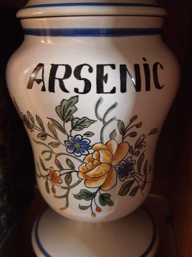 The Ol' New York Arsenic T... is listed (or ranked) 1 on the list Real Cases of Razor Blades, Poison, and Other Things Put in Halloween Candy