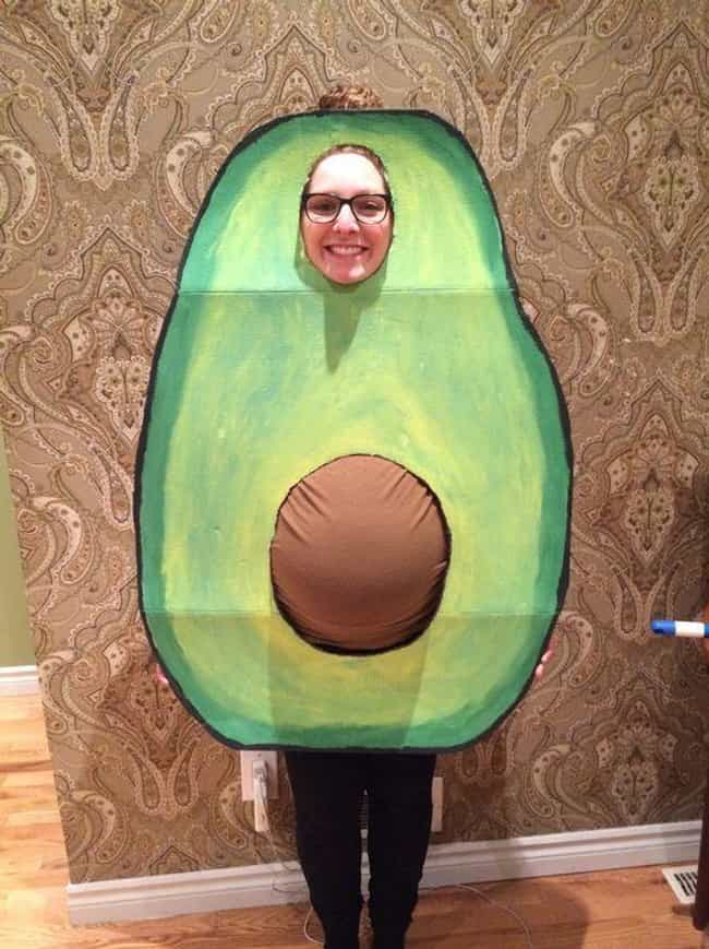 Going Green is listed (or ranked) 4 on the list 23 Funny Halloween Costumes for Pregnant Women That Are Super Clever