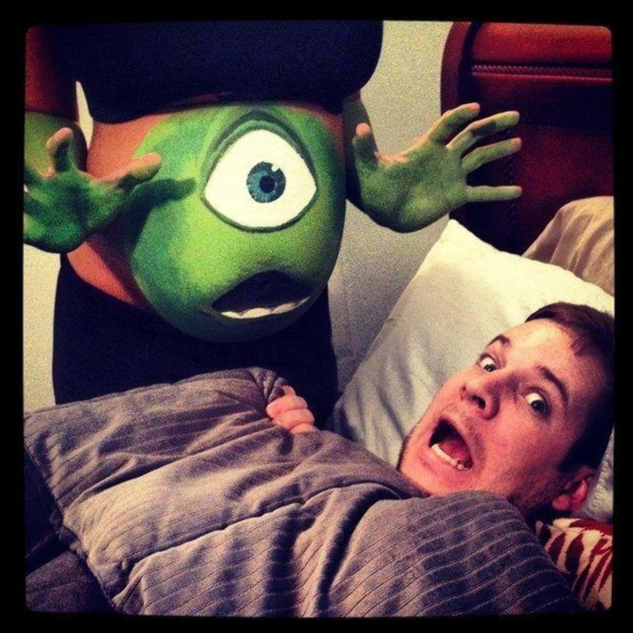Mike Wazowski! is listed (or ranked) 4 on the list 23 Funny Halloween Costumes for Pregnant Women That Are Super Clever