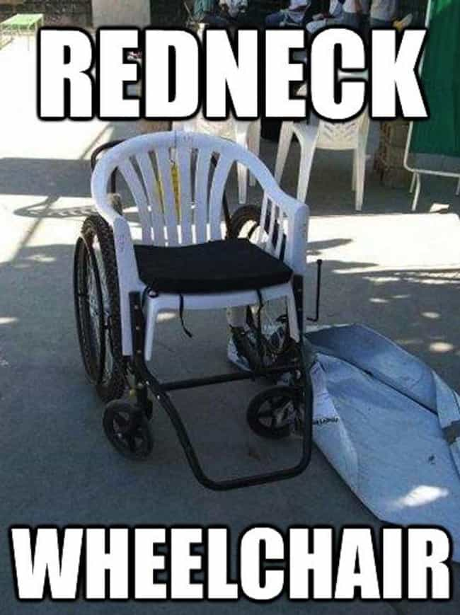 Redneck Medical Ingenuit... is listed (or ranked) 8 on the list Photos That Will Make Your Inner Redneck Laugh