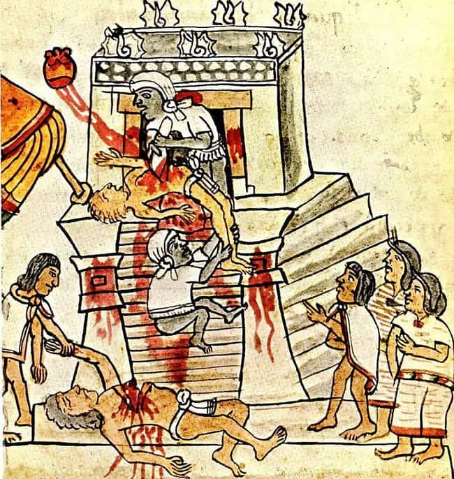 Aztec Heart Removal is listed (or ranked) 1 on the list Crazy Punishments, Rituals, and Violent Practices in Native American Culture