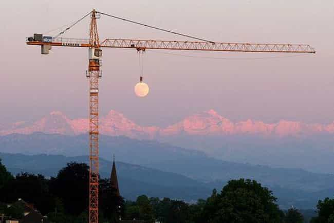 Sometimes Even the Moon Needs ... is listed (or ranked) 2 on the list 32 Clever Forced Perspective Shots That'll Play Tricks on Your Mind