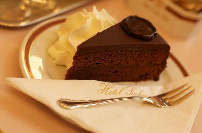 Sachertorte Is the Secret Choc... is listed (or ranked) 1 on the list 22 Delicious International Desserts You Deserve to Know About