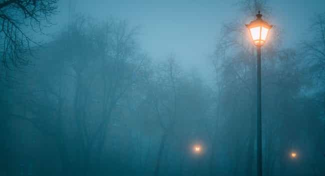 Blue Mist Road is listed (or ranked) 3 on the list 15 Creepy Stories And Urban Legends From Pennsylvania